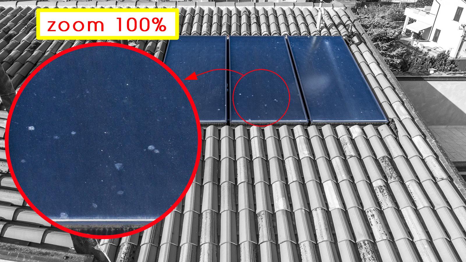 Fotografie Al Volo! Drone - Ispezione Tetti - pannelli solari