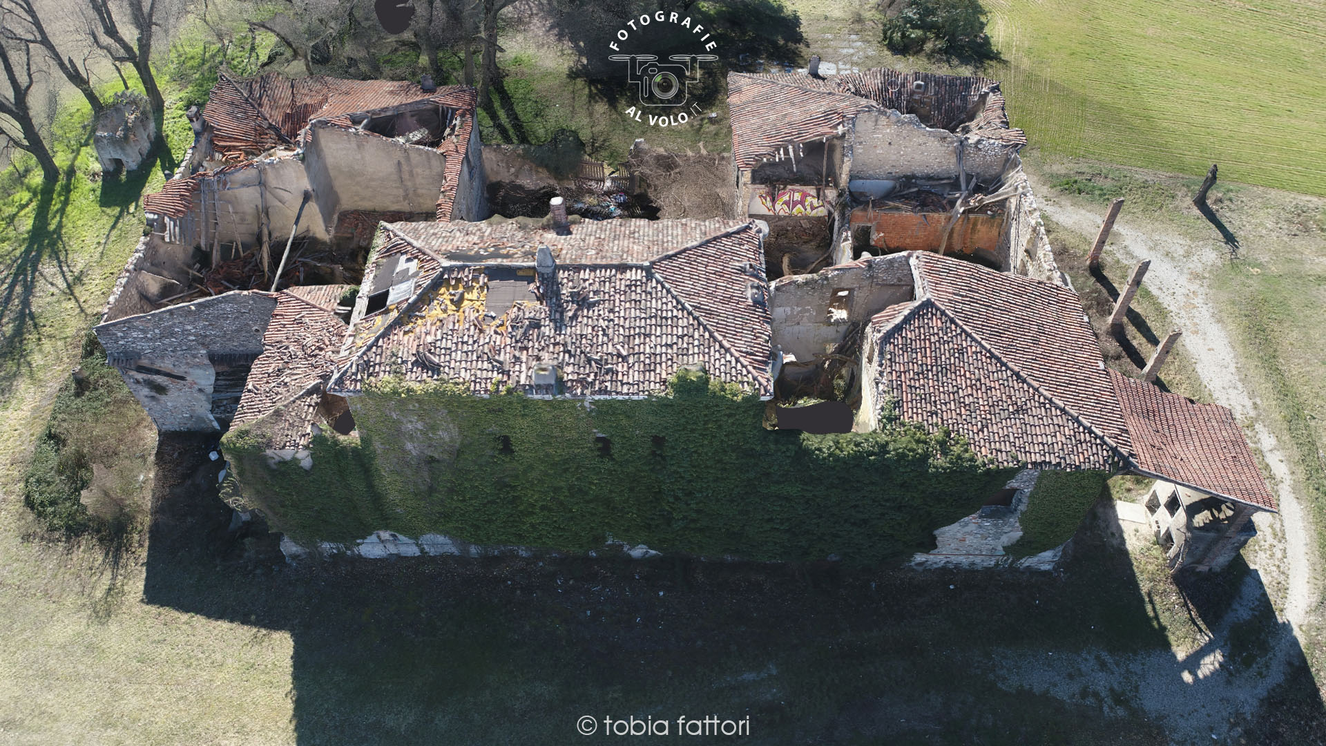fotografie al volo - rilievo 3d con drone